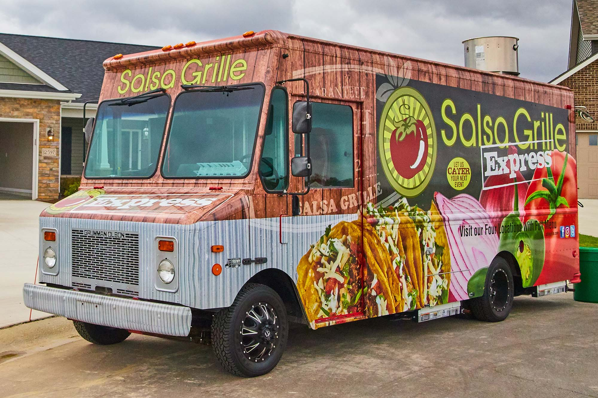 Salsa Grille Express Food Truck
